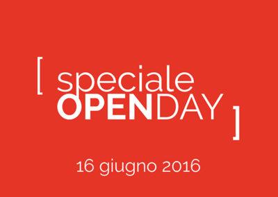 Open Day 16 Giugno 2016